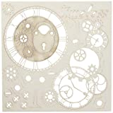 "49 and Market Timeless White Archival Chipboard 6""x6"""