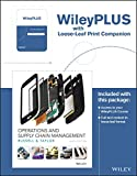 Operations and Supply Chain Management, 9th Edition WileyPLUS Registration Card + Loose-leaf Print Companion