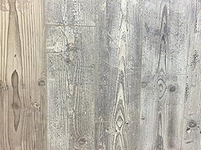 12mm Wood Laminate Flooring - Distressed Ivory