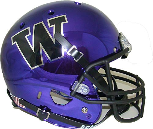 Washington Huskies Purple Chrome Schutt Full Size Replica XP Helmet