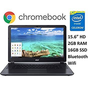 Amazon Com Acer Cb3 531 C4a5 15 6 Chromebook Celeron N2830 2 16