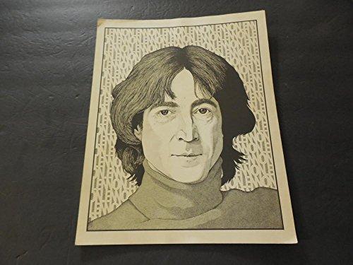 (Vintage John Lennon Pencil/Charcoal Print by Conrad Scroggins #C31-296)