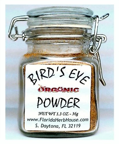 BirdsEye Pure Powder 1.3 oz. (36g) - Organic Eco Friendly Gifts! - Eco-Spices!