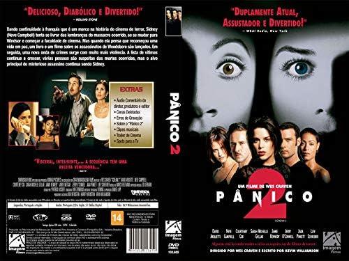 Pânico 2: David Arquette, Neve Campbell, Courtney Cox, Wes Craven ...