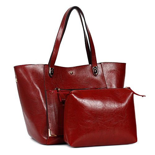 Capacity Shoulder Leather Women Bags PU Shopping Ephraim Traveling Tote Large Bags Red Bags Handbags Bags aAwXBAxq7