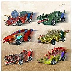 Dinosaur Toy Pull Back Cars - Dinosaur T...
