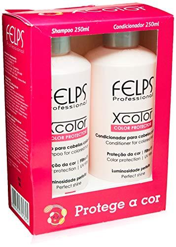 Xcolor Kit Duo Home Care 2X250 ml, Felps, 500ml, pacote de 2
