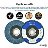 amoolo 4 1/2 Flap Disc (20 Pack), T29 Zirconia