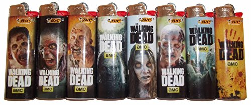 Lighters Walking Dead Officially Licensed