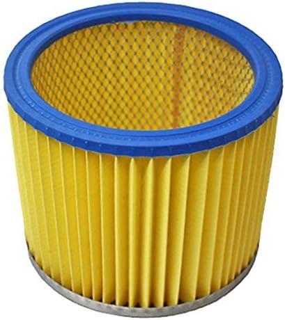 Spares2go cartucho de filtro para LIDL Parkside en seco y mojado aspiradoras: Amazon.es: Hogar