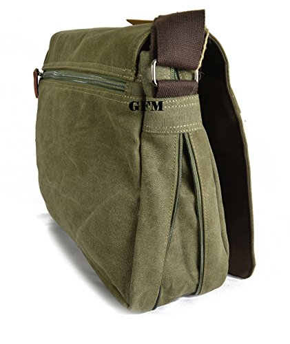 Lienzo bolso bandolera de boda de estilo clásico bolso bandolera para - School, college, Uni, oficina, viajar o para el Casual para accesorios del bebé Black #KL0