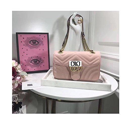 (Marmont Cross-body Bag for Womens Handbag Designer Fashion Single Shoulder Messager Bags-pink)