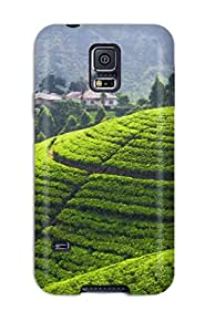 Cute High Quality Galaxy S5 Tea Plantation Case