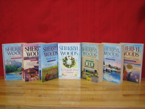 Chesapeake Shores Series Set; Volumes 1-7 By Sherryl Woods. Titles Include: (The Inn at Eagle Point/ Flowers on Main/ Harbor Lights/ A Chesapeake Shores Christmas/ Driftwood Cottage/ Moonlight Cove/ Beach Lane)