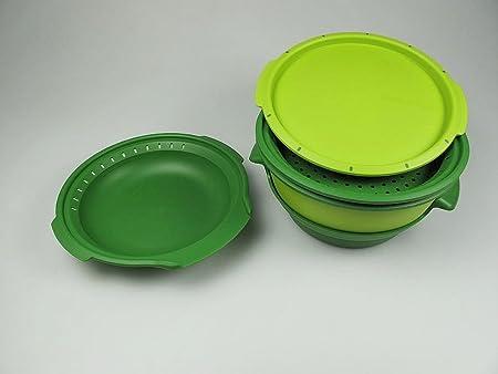 Tupperware I101 Micro gourmet de vapor microondas + al vapor ...