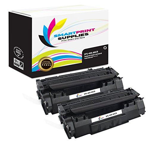 Smart Print Supplies Compatible 49A Q5949A MICR Black Toner Cartridge Replacement for HP Laserjet 1160 1320 Printers (2,500 Pages) - 2 ()