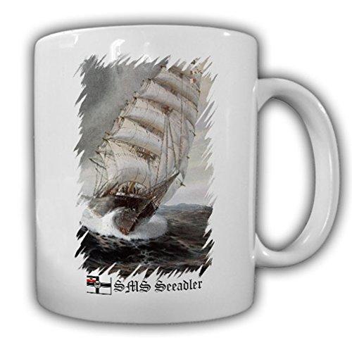 SMS Sea Eagle Historical Ship Sailing Ship Auxiliary Cruiser Imperial Navy Historic Postcard - Coffee Cup Mug