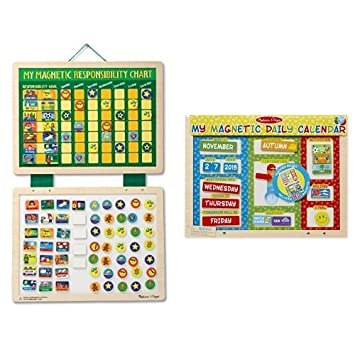 Melissa Doug My Magnetic Responsibility Chart My First Daily