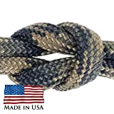 West Coast Paracord - Paracord / Parachute Cord 7 Strand Type III 550 lb. Break Strength Made by US Government Contractors, 550 Survival Cord, Made in USA.