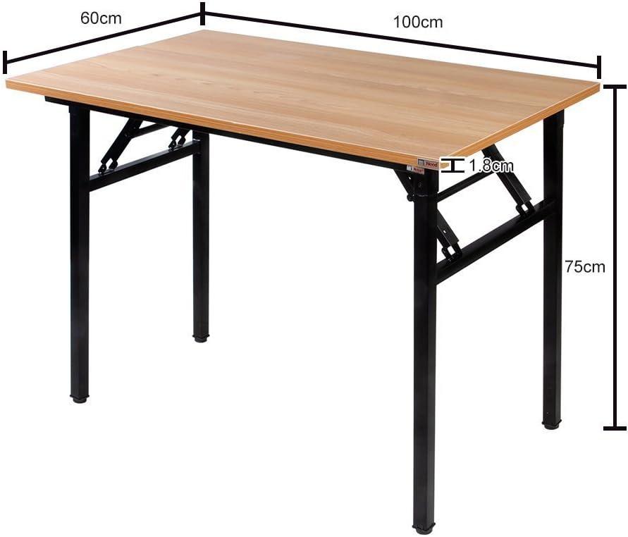 Garten 100 * 60 cm,AC5CB-100 Picknick Need Schreibtisch Klapptisch Holzwerkstoffen Computertisch PC Tisch B/ürotisch Arbeitstisch Esstisch f/ür Zuhause B/üro