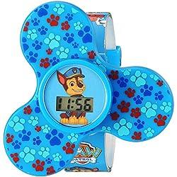 Nickelodeon Quartz Plastic Casual Watch, Color:Blue (Model: PAW4175)