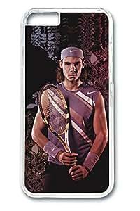 iPhone 6 Case, 6 Case - Perfect Fit Clear Hard Case Cover for iPhone 6 Rafael Nadal Anti-Scratch Crystal Clear Hard Back Cover Case for iPhone 6 4.7 Inches