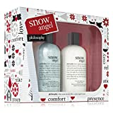 A limited-edition two-piece set that helps you make the most of a snow-filled night and create a cozy bathing experience.The award-winning multitasking shampoo, shower gel and bubble bath conditions as it cleanses, leaving skin and hair silky-soft an...