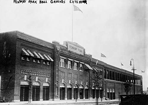 Fenway Park - Boston Red Sox, Baseball Photo #4 - Vintage Photograph (12x18 SIGNED Print Master Art Print w/Certificate of Authenticity - Wall Decor Travel Poster) ()