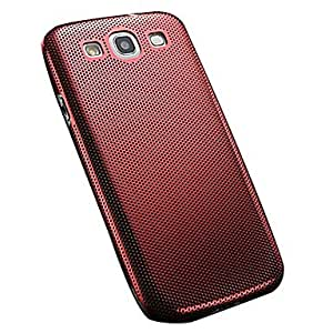 LHY Thin Mesh Aluminum Brushed Back Metal Cover for Samsung Galaxy S3 I9300 , Silver
