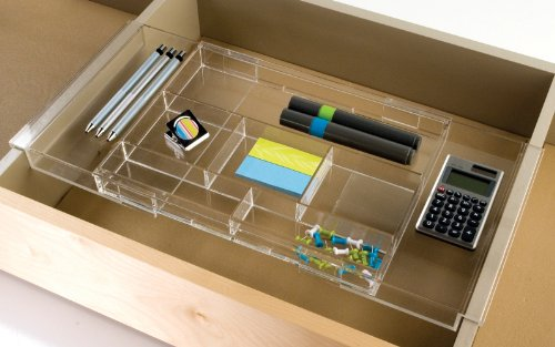 Expandable Makeup Amp Vanity Hanging Drawer Organizer Tray