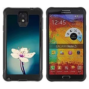 Suave TPU GEL Carcasa Funda Silicona Blando Estuche Caso de protección (para) Samsung Note 3 / CECELL Phone case / / green blue white pink flower spring /