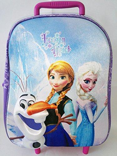 955e7a0270 Zainetto Trolley asilo Frozen Olaf in rilievo