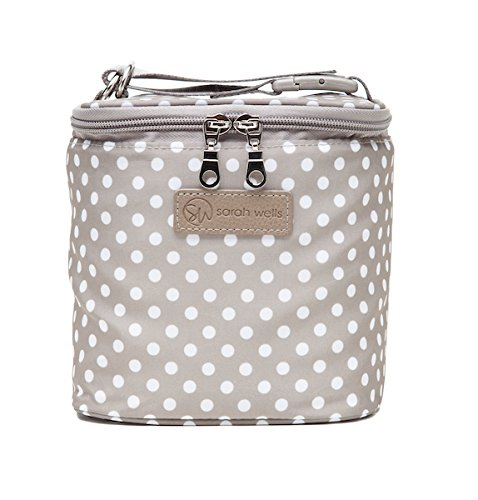 Ice Cooler Bag (Sarah Wells Cold Gold Breastmilk Cooler Bag (Greige) With Ice Pack)