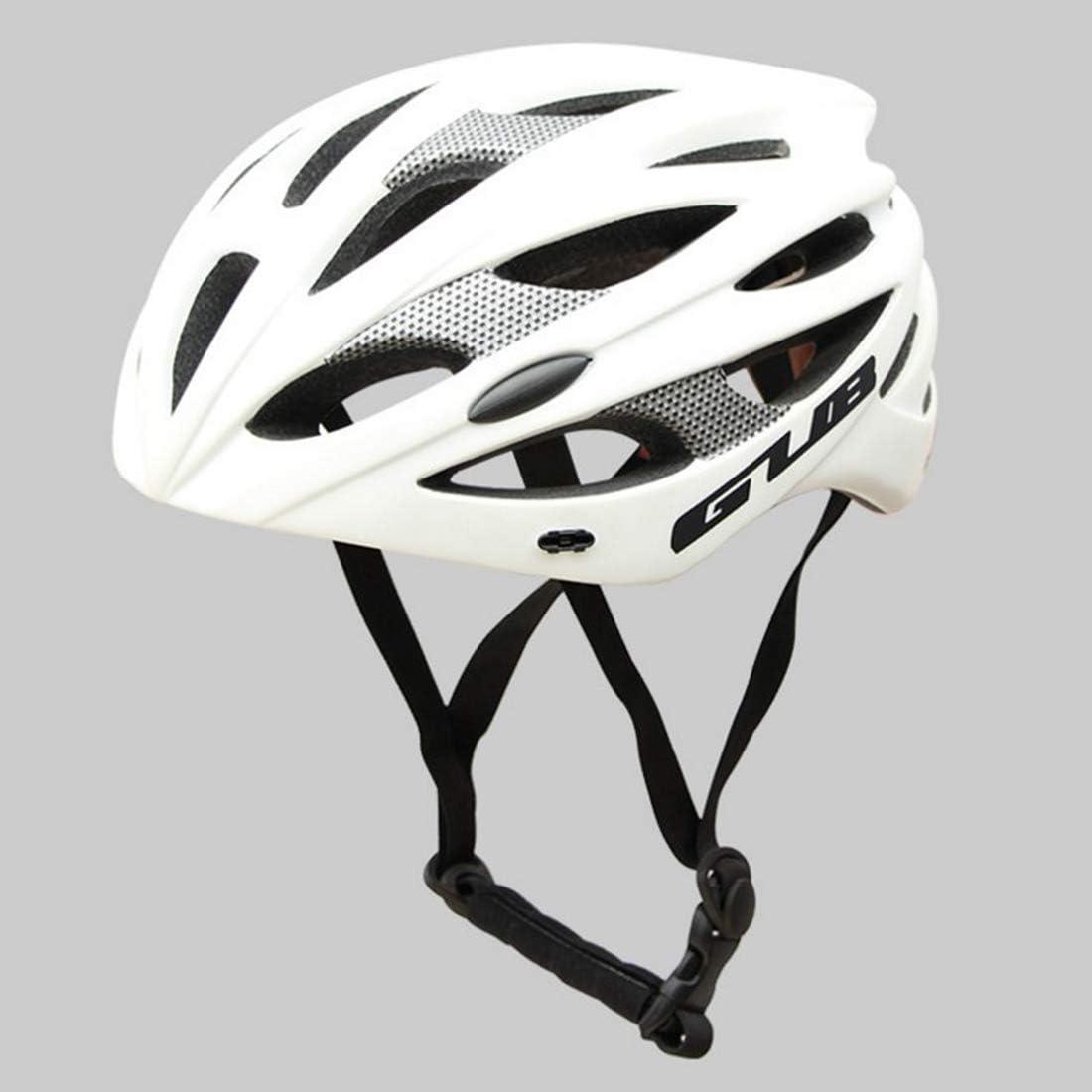 Makecny 自転車用ヘルメット、屋外用サイクリング愛好家に最適な自転車用安全ヘルメット。 (色 : ホワイト) ホワイト