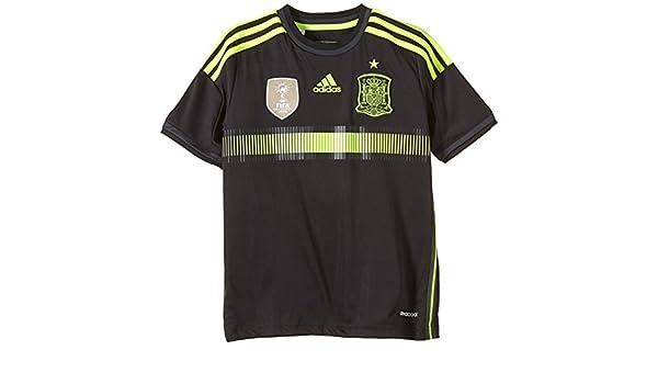 Adidas JNR Fef A JSY - Camiseta de fútbol para niño Negro 10 años: Amazon.es: Deportes y aire libre