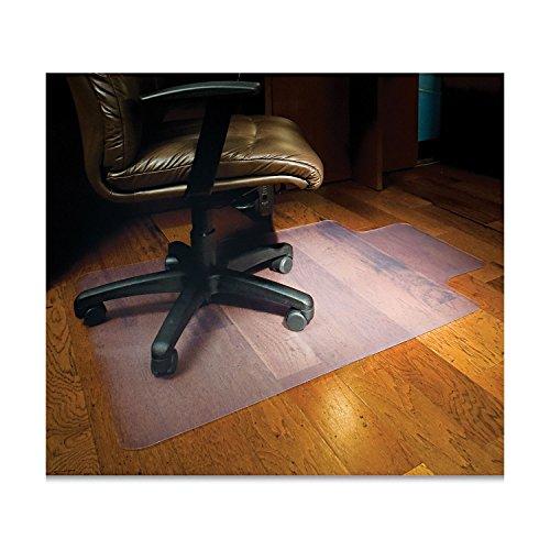 - ES Robbins 132123 45x53 Lip Chair Mat, Multi-Task Series for Hard Floors, Heavier Use