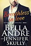 Book Cover for Breathless In Love (The Maverick Billionaires, Book 1)