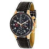 Tutima Grand Classic Alpha 789-01 Men's Watch in 18K Rose Gold (Certified Pre-owned)