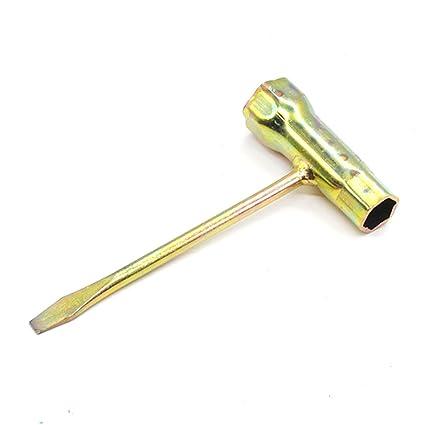 Llave de tuerca para cadena de motosierra de 13 mm x 19 mm, llave inglesa
