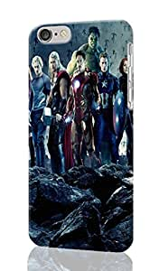 "The Avengers Personalized Diy Custom Unique 3D Rough Hard Case Cover Skin For iPhone 6 Case, iPhone 6 4.7"" inches case, Design By Graceworld"