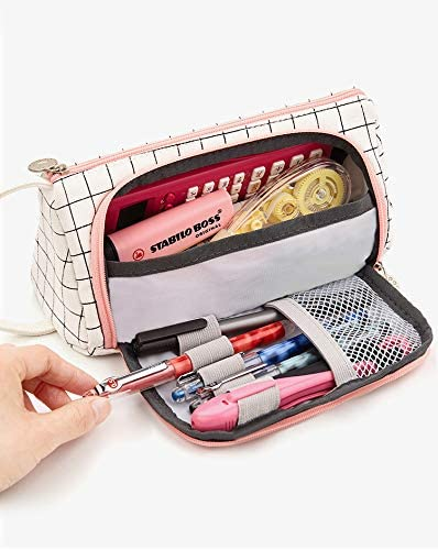 iSuperb Grande Estuche Escolar Capacidad Bolsa para Lapices Estudiante Plumier Pencil Cases Bolsa de Almacenamiento de Viaje: Amazon.es: Oficina y papelería