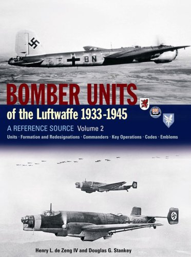 Bomber Units of the Luftwaffe 1933-1945 Volume 2: A Reference Source (Best Army Unit In The World)