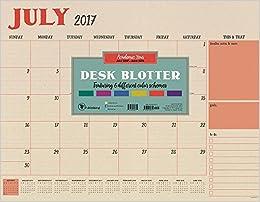 tf publishing academic year planner kraft 22x17 beige 18 8215a