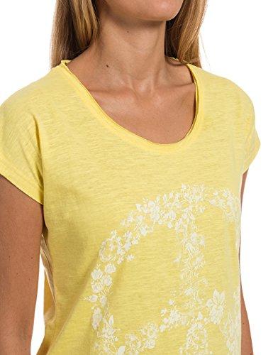 Timezone Loosefit T-shirt - Camiseta Mujer Gelb (lime yellow 7078)