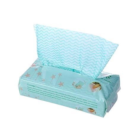 BESTONZON 80 Piezas Desechables de Lavado Plato de Cocina paño de Limpieza Antiadherente Barrido de Aceite
