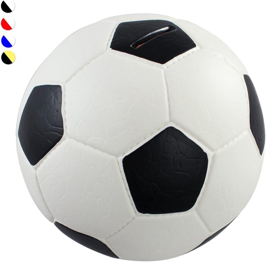 HMF 4790-01 alcancía pelota de fútbol imitación de piel, Caja de ...