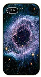 Case For Sam Sung Galaxy S5 Cover Blue Nebula - black plastic case / Space, star, stars