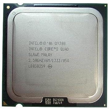 Intel Core 2 Quad Q9300 SLAMX SLAWE 2.5GHz 6MB CPU Processor LGA775 Components at amazon
