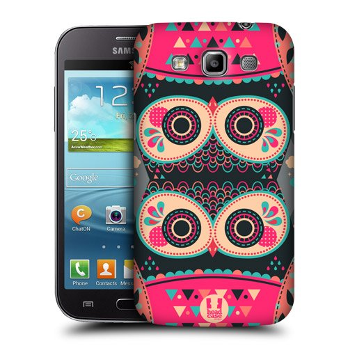 Head Case Designs Fancy Coral Nightfall Owls Protective Snap-on Hard Back Case Cover for Samsung Galaxy Win I8550 Duos I8552