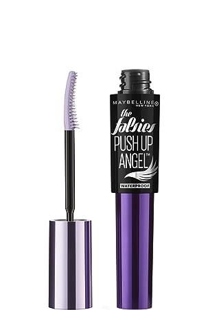Maybelline New York The Falsies Push Up Angel Waterproof Mascara, Very Black, 0.32 Fluid Ounce: Amazon.es: Salud y cuidado personal